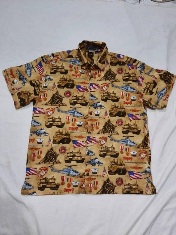 USMC Fullover Print Shirt