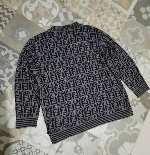 Fendi Mare FF monogram Knitwear