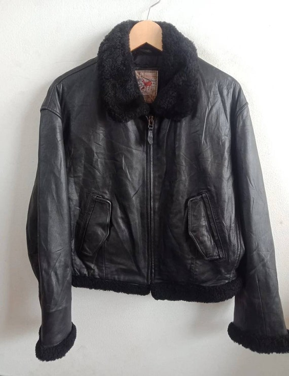45RPM Studio leather jacket