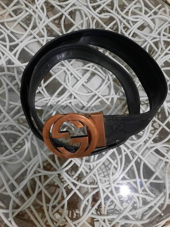 Gucci Monogram Belts