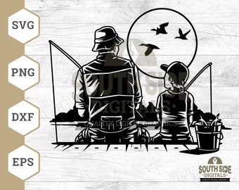 Download Family Fishing Svg Etsy