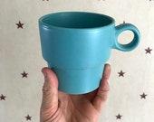 Vintage Fiestaware Style Teal Mug
