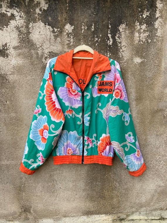 Vintage Jams World Reversible Jacket Honolulu Hawa