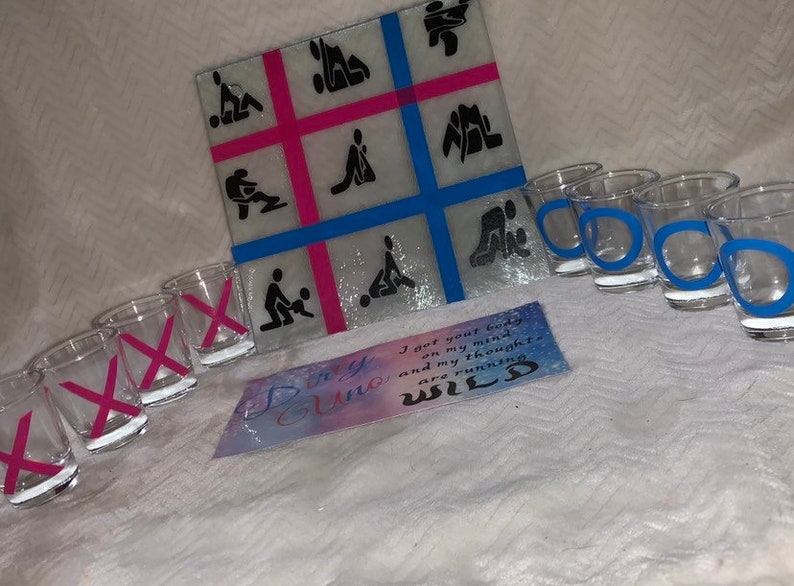 Personalize Dirty Tic Tac Toe