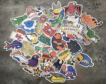 Corndoggy NFL Stickers '20 Season