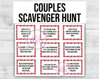 Scavenger hunt for girlfriend romantic Date Night