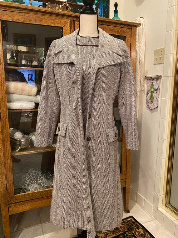 Paula Brooks dress and jacket