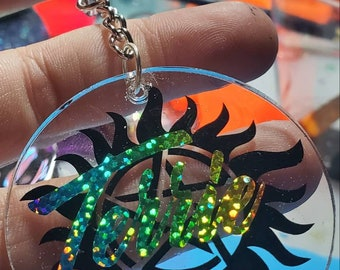 Supernatural Demon Ward Acrylic keychain