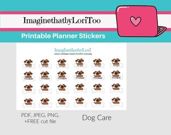 Repositionable Matte Vinyl Pet Groomer Planner Stickers