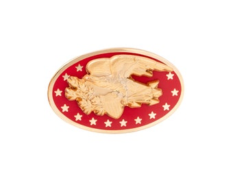 Americana Eagle Lapel Pin