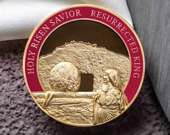 """Resurrection Of Christ Collectors Coin (1.75"""")"""