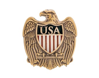 USA Eagle Shield Lapel Pin