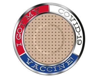 COVID-19 Vaccine Lapel Pin