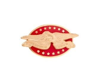 Banner Eagle Lapel Pin