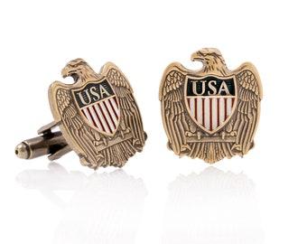 Eagle Shield Cufflinks