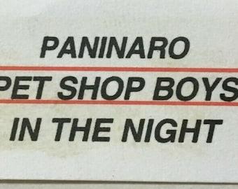 "1995 RaRe Pet Shop Boys - Paninaro '95 Vinyl, 7"", 45 RPM, Single, Jukebox"