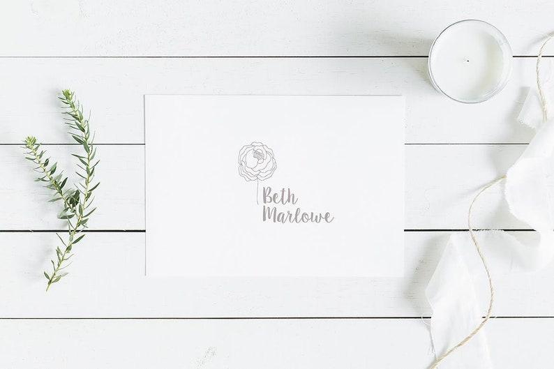 prefabricated logo design Handwritten logo- Premade Logo Design Premade Logo Custom Logo Design