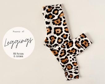 Baby legging sewing pattern, Easy legging PDF sewing pattern, baby and kids sewing pattern, Baby girl leggings, Baby pant PDF sewing pattern