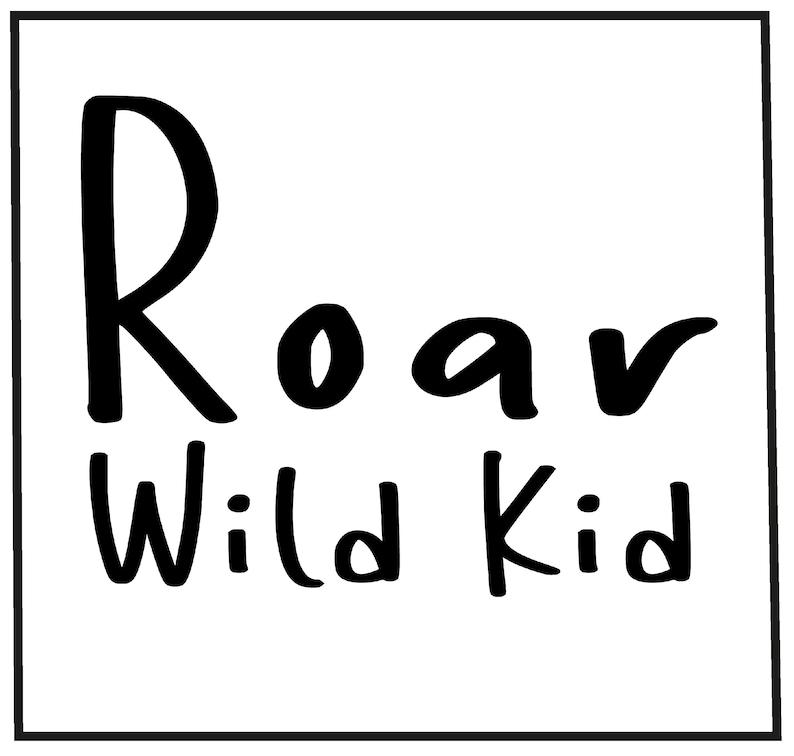 Roar wild kid  children\u2019s Sweatshirt childrenwear