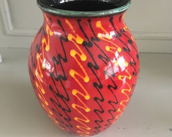Poole Pottery Strobe Roman Vase