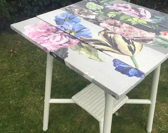 Garden Room Vintage Bamboo Side Table