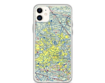 IAH Sectional VFR Chart - Sleek iPhone Flex Case