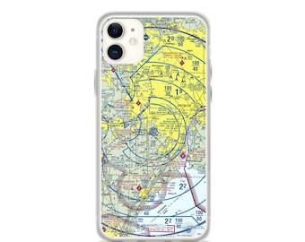 DTW Sectional VFR Chart - Sleek iPhone Flex Case