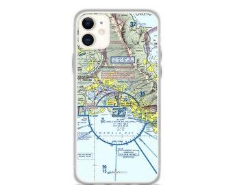 HNL Sectional VFR Chart - Sleek iPhone Flex Case