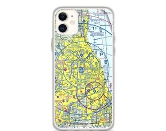 ORD Sectional VFR Chart - Sleek iPhone Flex Case