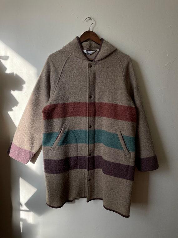 Vintage Woolrich Striped Coat