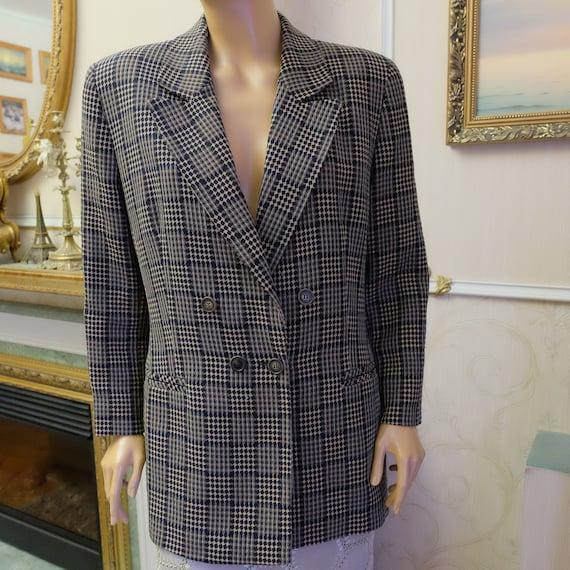 Karl Lagerfeld, Women's Blazer, Vintage Jacket, 19