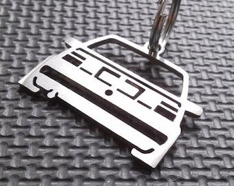 Jetta Keyring Keychain MK2 II 2 1 3 Gt Gli 16v Turbo Diesel Cult Gti GL G60 Stainless Steel