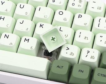 Matcha Theme PBT Keycap Set for Mechanical Keyboard XDA Profile MX Stem Compatible Keycaps
