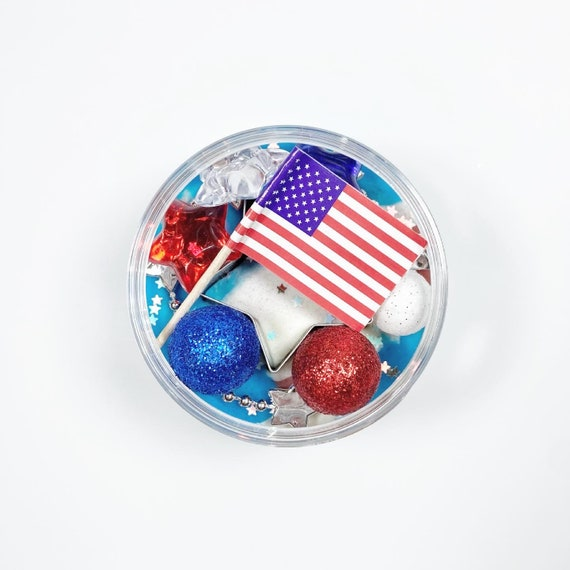 Dough To Go Memorial Day Sensory Kit  Patriotic Busy Box