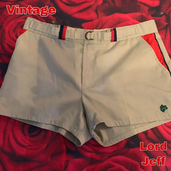 Vintage 70s Lord Jeff size 6 36 shorts