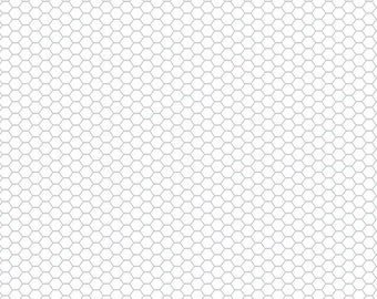 Down on the Farm - Chicken Wire - Doodle Bug Design Inc. - Riley Blake Designs - C10075-White - 100% Cotton Quilting Fabric