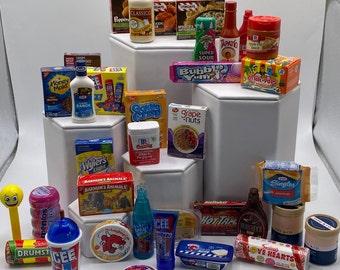 Mini Brands, Zuru mini brands, 1/6th scale,  12' doll props, accessories, doll house, barbie, elf, action figure