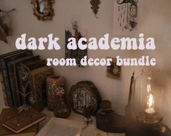 Dark Academia Room Decor Bundle