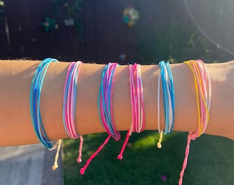 Pura-Vida Style Adjustable Bracelet
