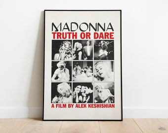 Madonna - Truth or Dare Poster Print