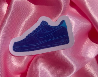 Sneaker Purple Sticker | High-Quality water resistant and Scratch-Resistant Stickers