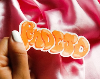 Pendejo sticker  | High-Quality Waterproof and Scratch-Resistant Sticker