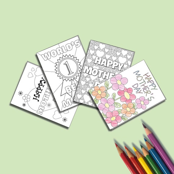 Kids Printable Mother's Day Card  Kids Printable Activity