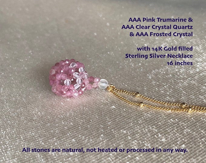 Ultimate Protection - Sacred Geometry Fullerene Necklace/AAA Crystals