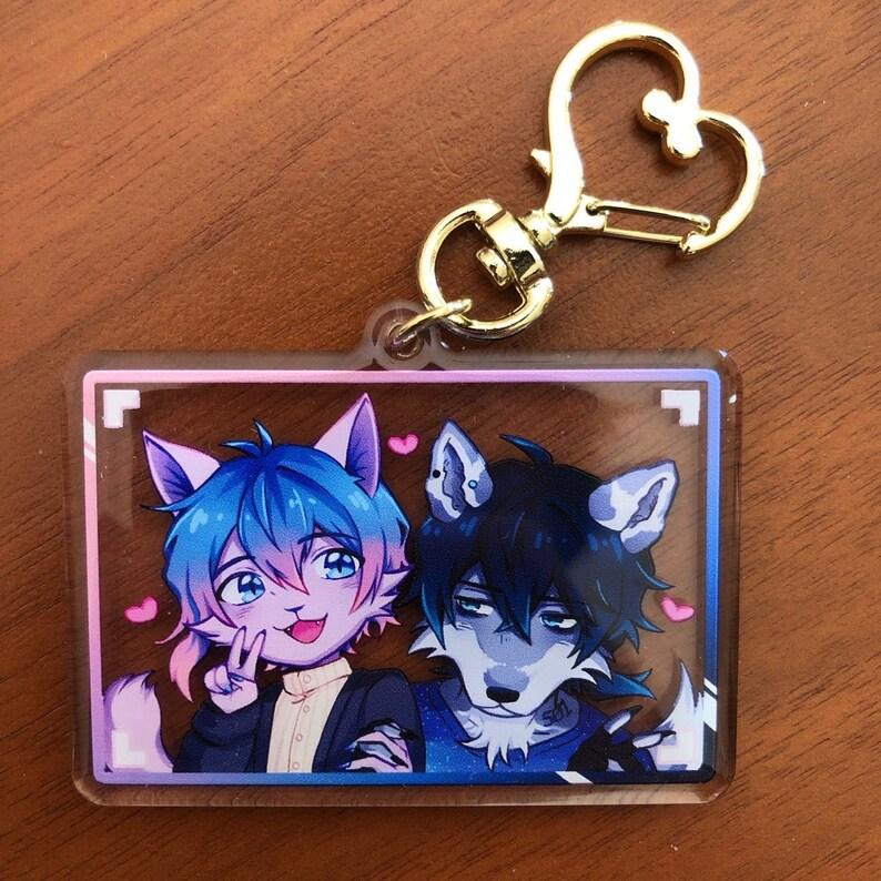 UTAU Utsuho / Naoki 2.5 Acrylic Keychain WW Shipping image 0