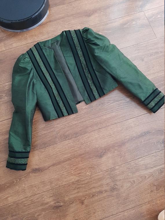 Silk 1950s blazer