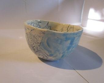 Delphinium (small ice-cream bowl)