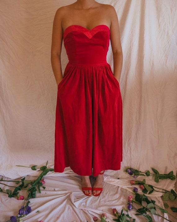 Vintage Laura Ashley Pink Dress Size 10-12 - The E