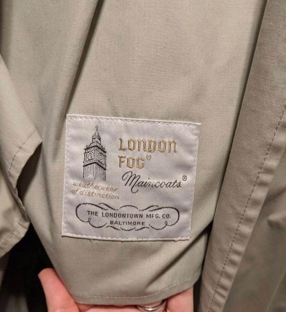 Vintage London Fog Trench Coat - image 2