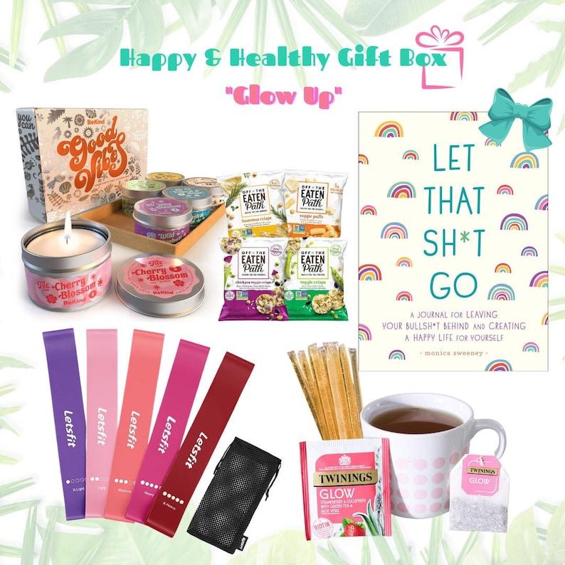 Happy & Healthy Gift Box/ Women's Gift Box/ Good Vibes image 0